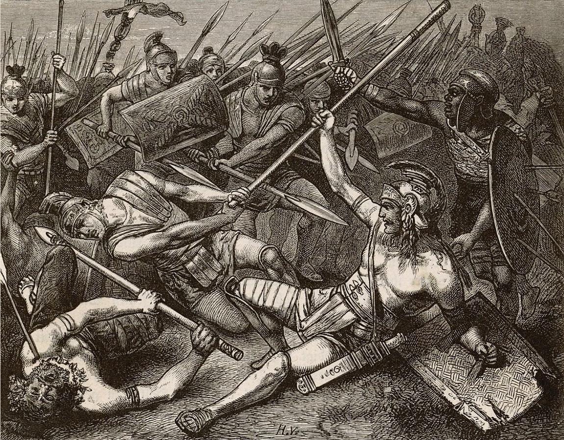 Death of Spartacus