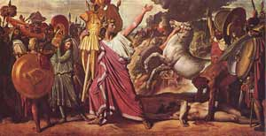 Painting of Romulus