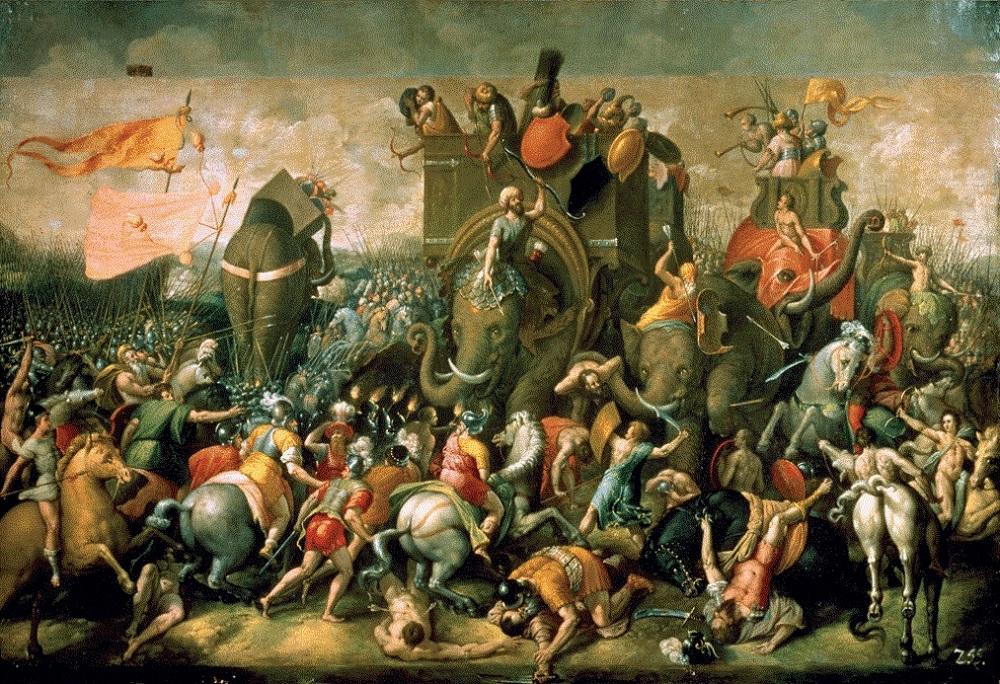 Punic Wars Painting