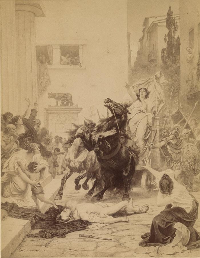 Death of Servius Tullius