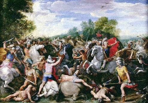 Tullus Hostilius Victorious